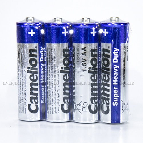 باتری معمولی قلمی شیرینگ4تایی کملیون