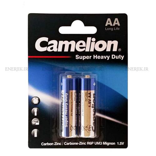 باتری معمولی کارتی قلمی2تایی کملیون