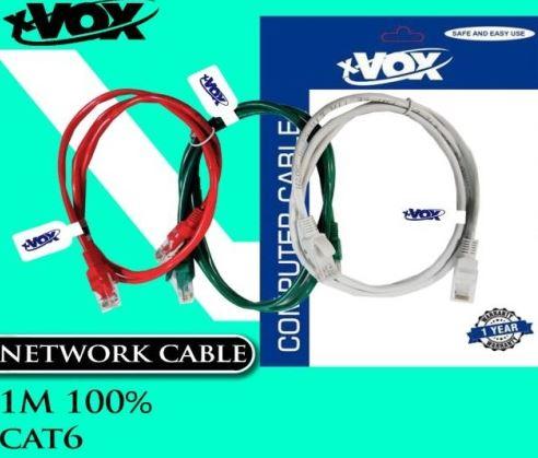 کابل شبکه CAT6 1M X-VOX