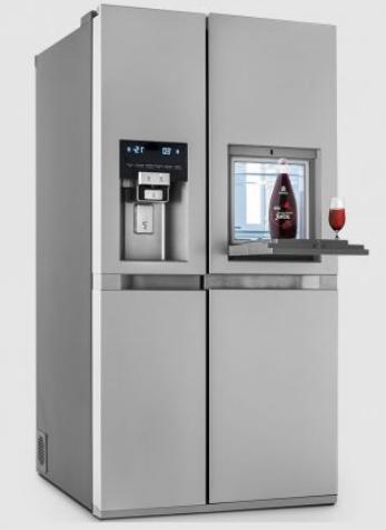 یخچال و فریزر سایدبایساید دوو ، پرایم 2 درب طرح استیل مدل D2S-1033SS