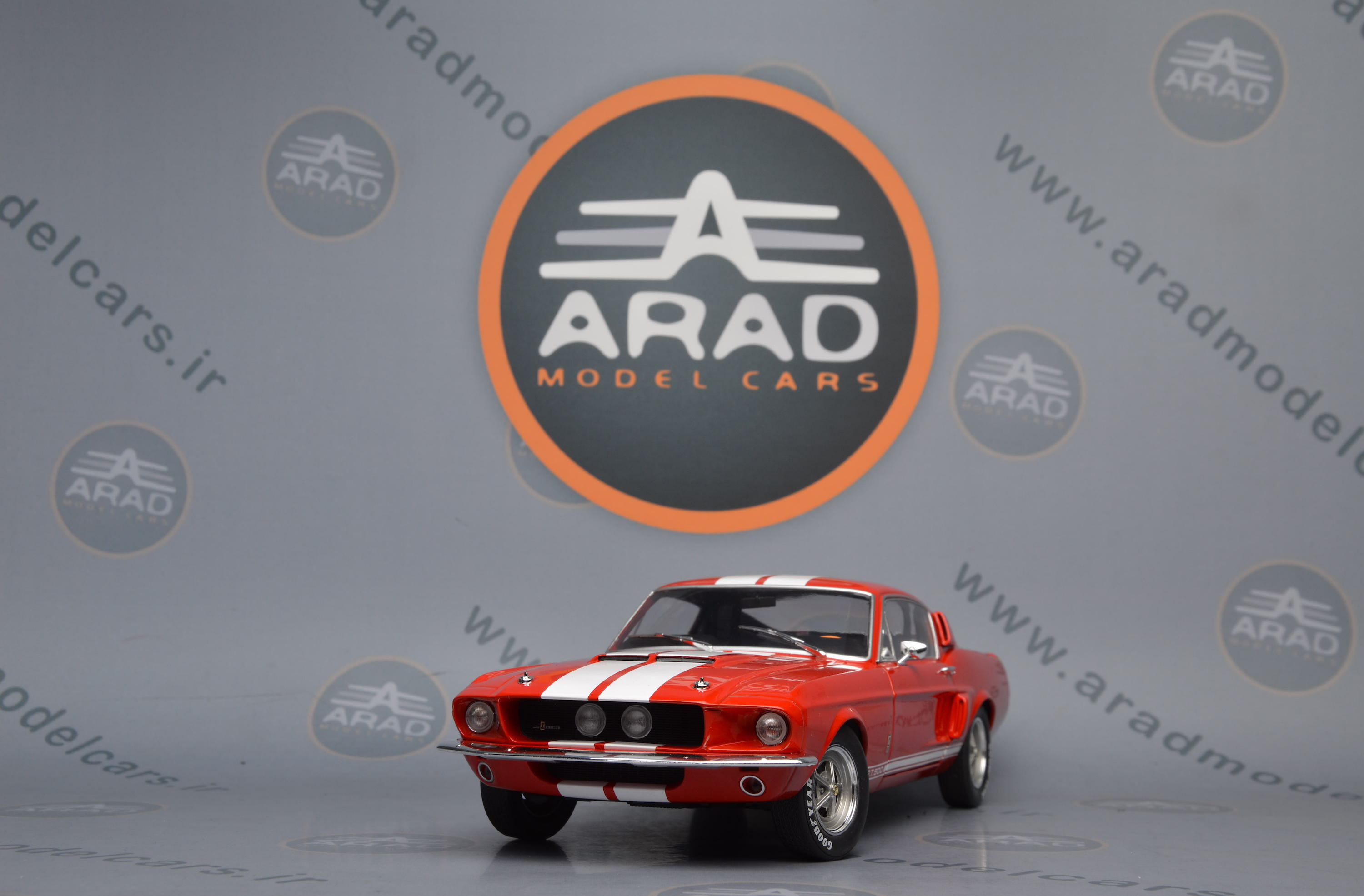 Shelby Mustang GT500 Red