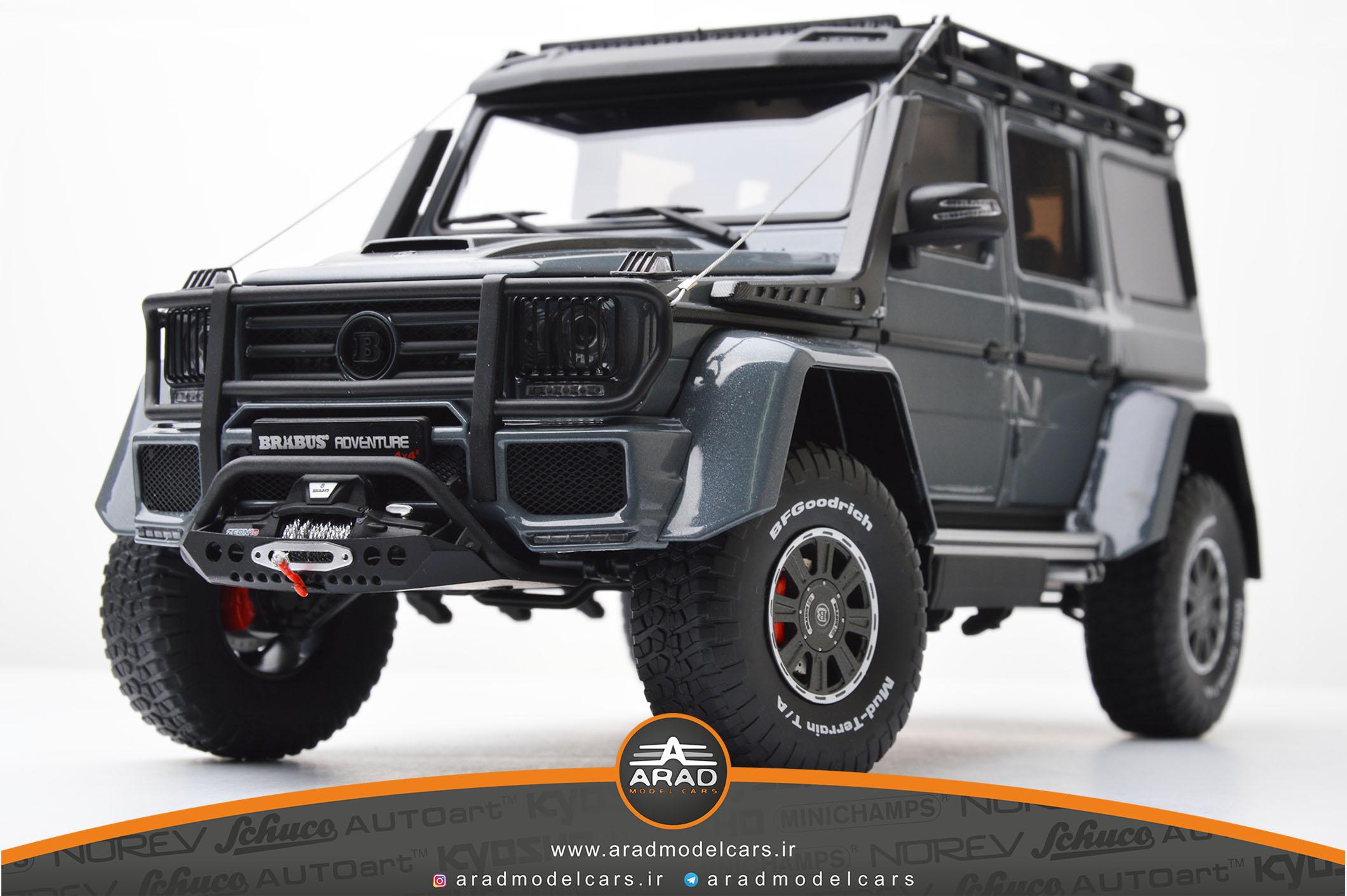 Mercedes Benz G550 Brabus Adventure - Metalic Gray