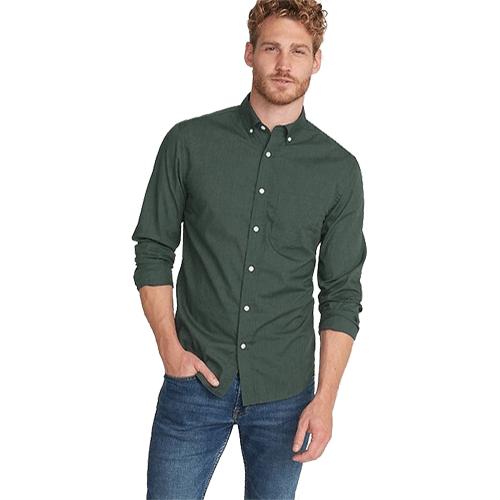 پیراهن مردانه زی مدل پوپلین