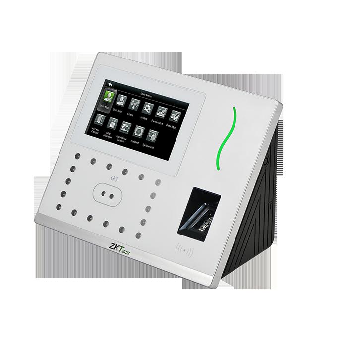 دستگاه اکسس کنترل تردد تشخیص چهره و اثر انگشت
