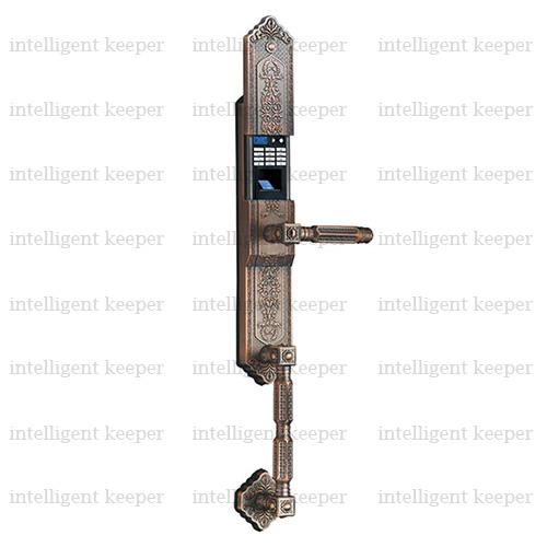 قفل آپارتمانی کلاسیک راست مسی IK 5100