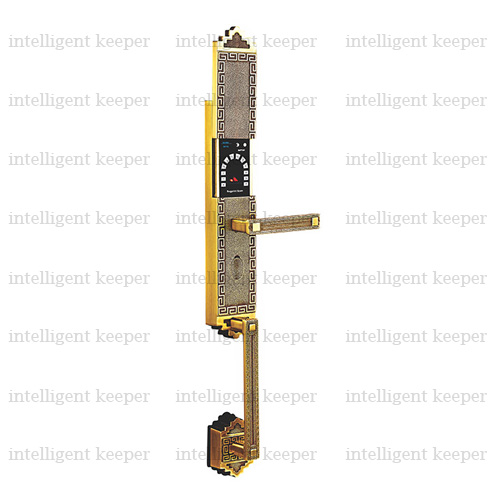 قفل آپارتمانی کلاسیک راست برنجی IK 5200