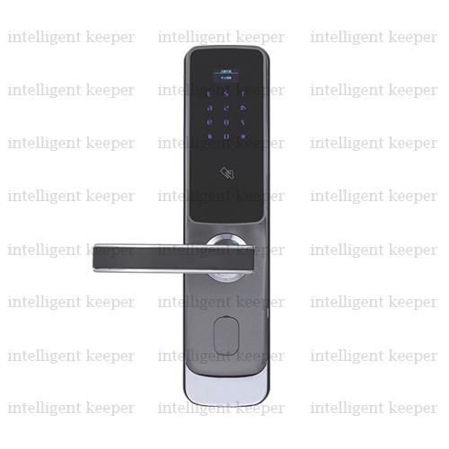 قفل آپارتمانی مدرن چپ خاکستری IK 3191