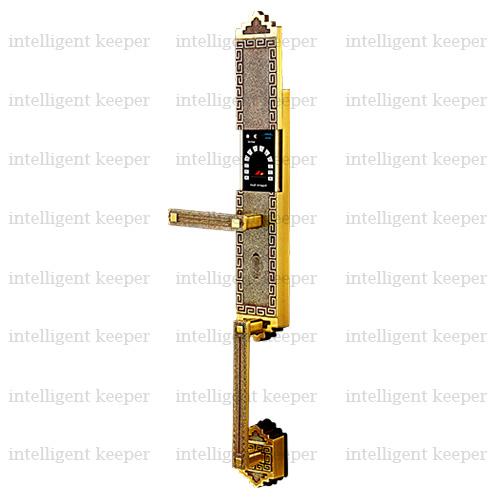 قفل آپارتمانی کلاسیک چپ برنجی IK 5200