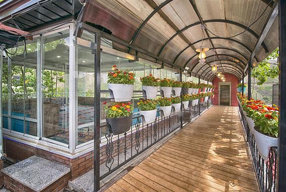 معماری پایا: کوریدور سبز