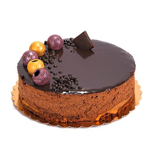 کیک شکلاتی موکا با دورکش قهوه