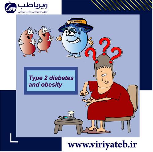 دیابت نوع 2 و چاقی