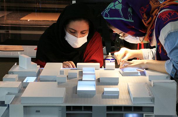 ساخت ماکت در کارگاه تکنیکوساخت هفتوهشت
