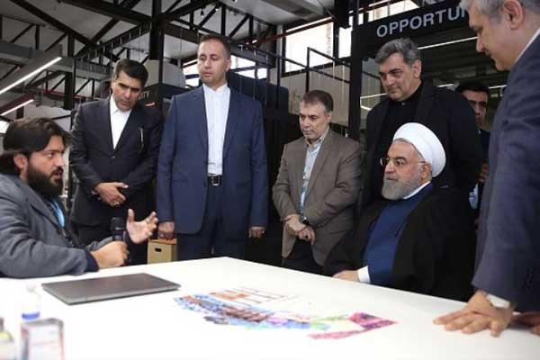 مراسم افتتاح رسمی کارخانه نوآوری با حضور ریاست جمهوری