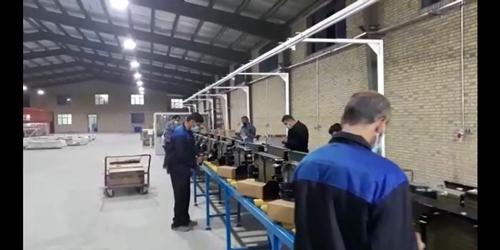 راه اندازی خط تولید کولر اتوبوس و مینی بوس در شرکت تهویه
