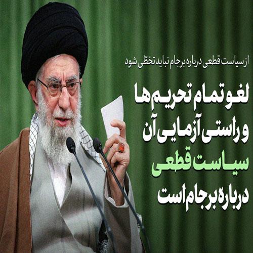 سخنرانی رهبر انقلاب به مناسبت نوروز1400